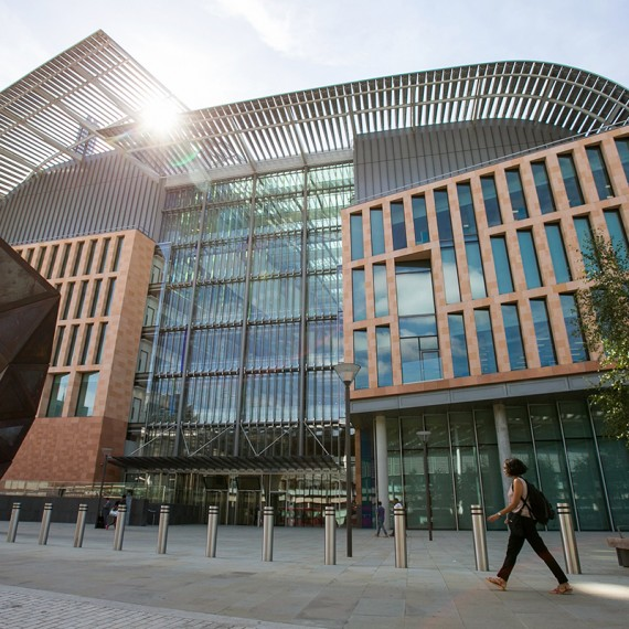 A general view outside the new Francis Crick Institute building in central London on September 1, 2016. The first scientists have moved into the new £650 million Francis Crick Institute building in London and are starting work in their purpose-built labs. Next to St Pancras station and the British Library, the Crick will be the biggest biomedical research institute under one roof in Europe. / AFP / DANIEL LEAL-OLIVAS        (Photo credit should read DANIEL LEAL-OLIVAS/AFP/Getty Images)