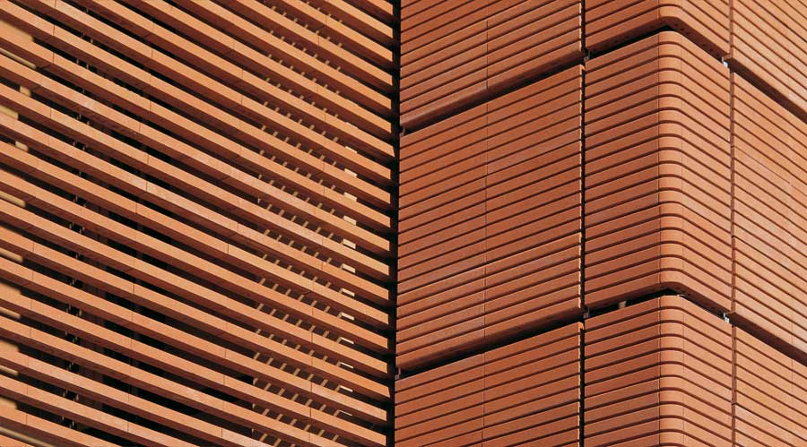 Ventilated Terracotta Cladding Banca Popolare Di Lodi